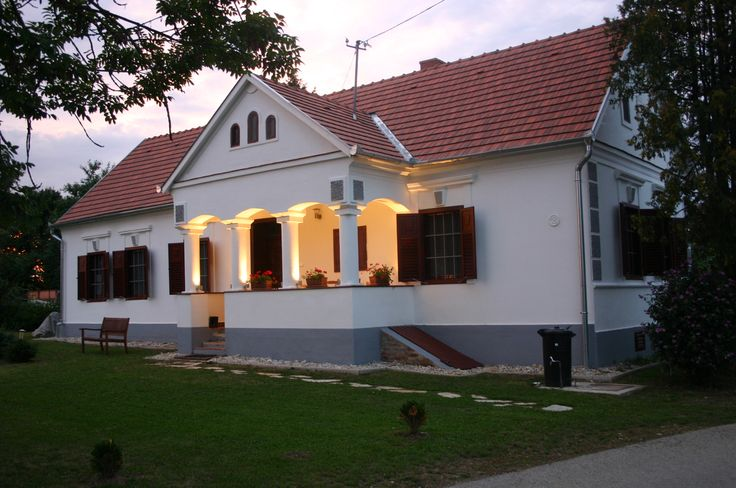 In the evening  www.orseg-szallas.hu