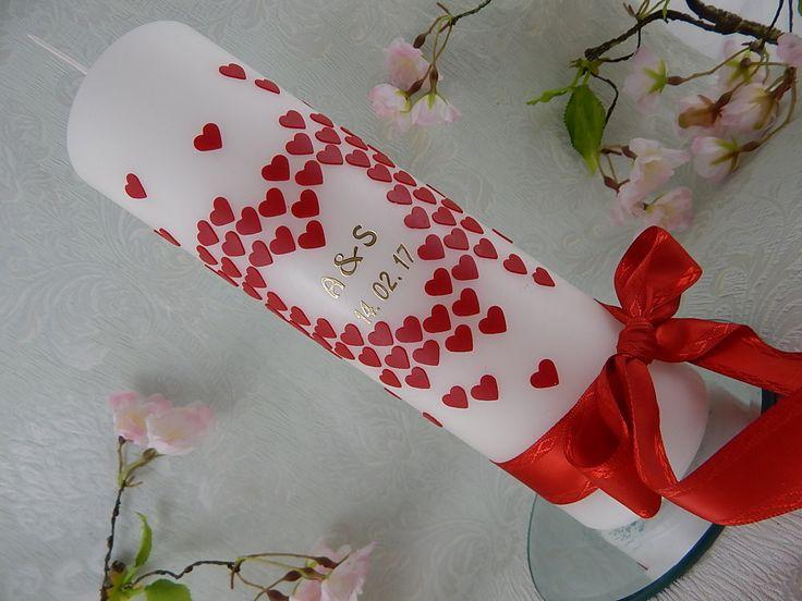 Hochzeit - Hochzeitskerzen - Hochzeitskerze - Verlobungskerze - Hochzeit Dekoration - Hochzeit Geschenk - Unikat von LenzKerzen auf Etsy