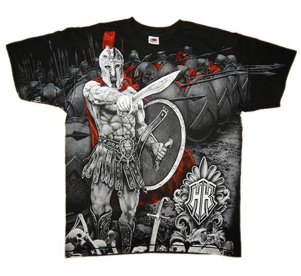 Spartans harcos póló