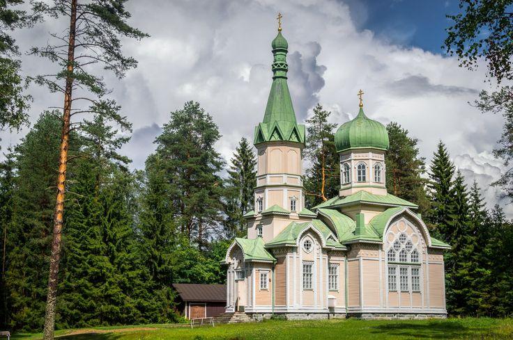Church in Polvijärvi, Finland.