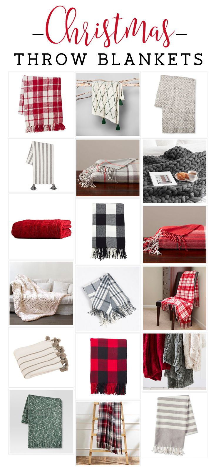 Christmas throw blankets, Christmas throw blankets from Amazon, Christmas throw blankets from Target, Budget-Friendly Christmas Throw Blankets, Holiday Throw Blankets, Plaid Throw Blankets