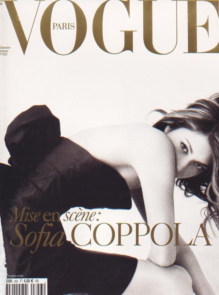 VOGUE Paris December/January 2004-2005 covergirl : Sofia Coppola소피아 코폴라 :: 네이버 블로그