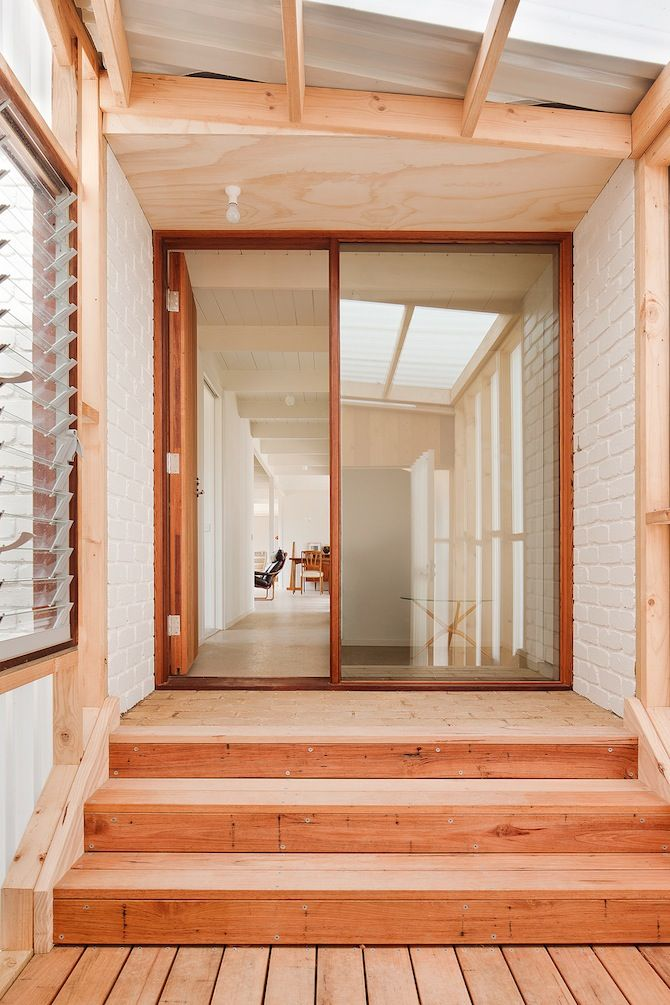 #Rad #Wood #Welcome. Clare Cousins Architects: Beach House - Mornington - Thisispaper Magazine