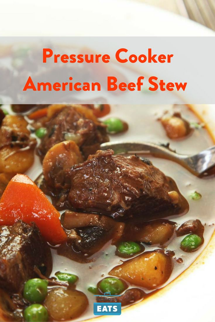 The pressure cooker makes beef stew that's short on time, but long on flavor.
