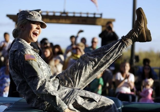Miss Kansas is only the second woman from the armed forces to compete in the pageant. | Why Everyone Loves Miss Kansas