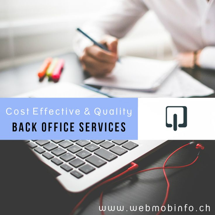 Cost Effective & Quality Back Office Services: http://goo.gl/EhfCx9