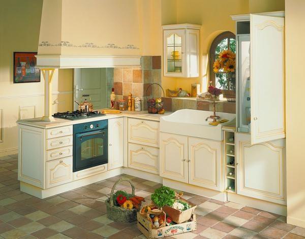 fabulous cuisine frigo cuisine conforama avec un frigo ouvert et un joli carrelage with. Black Bedroom Furniture Sets. Home Design Ideas