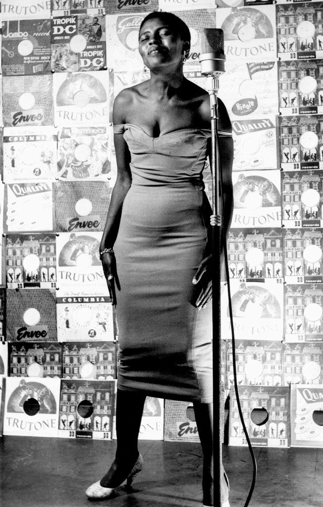 Apartheid Exposed in Drum Magazine - Slide Show - NYTimes.com - Miriam Makeba posing for Drum Magazine ...