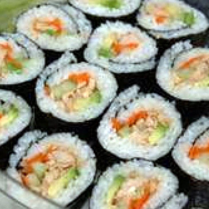 Spicy Tuna Sushi Roll Recipe