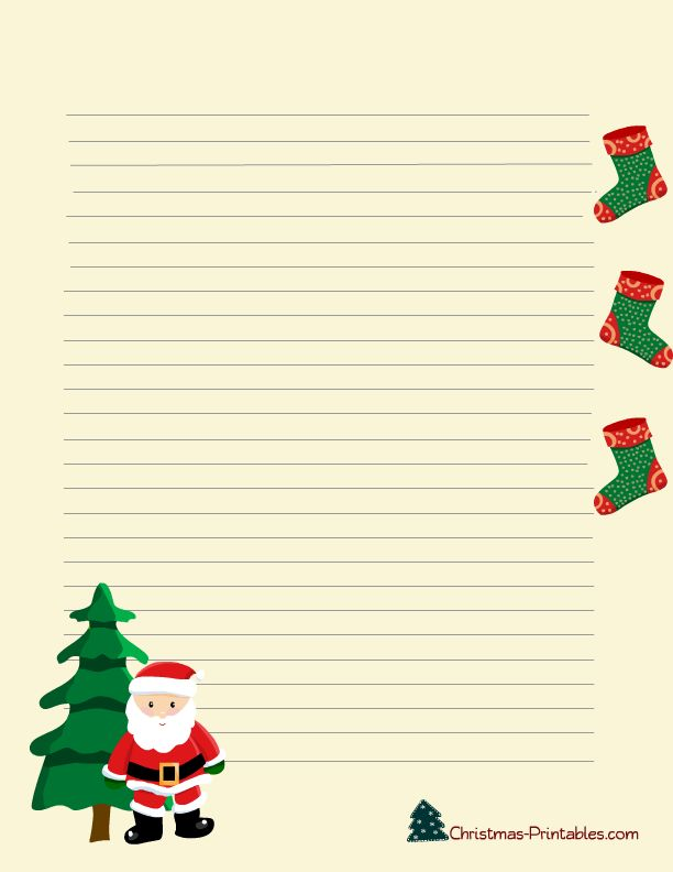 1419 best Christmas \ Winter Stationery only images on Pinterest - free xmas letter templates