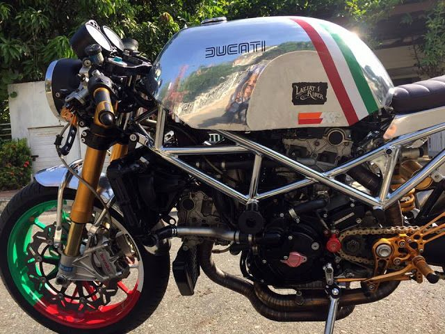 Ducati S4R Cafe Racer by Triple555 #motorcycles #caferacer #motos | caferacerpasion.com