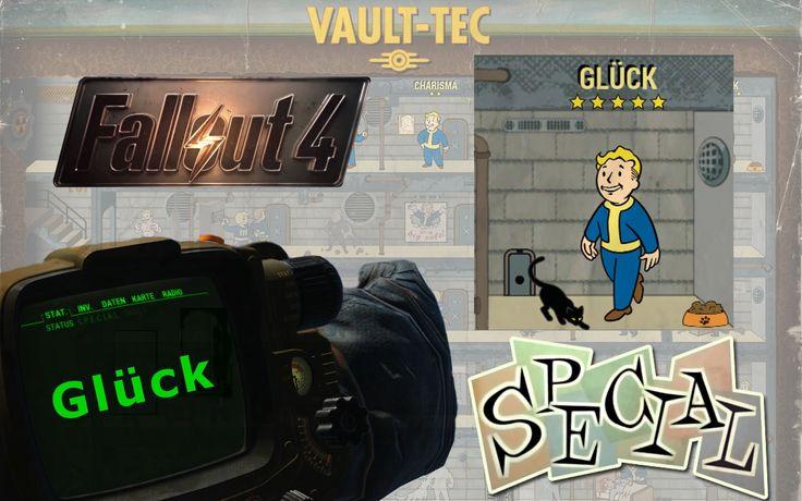 FALLOUT 4 ►SPECIAL◄ Perksystem Glück™ ≡ Fallout 4 Tipps & Tutorial Deutsch
