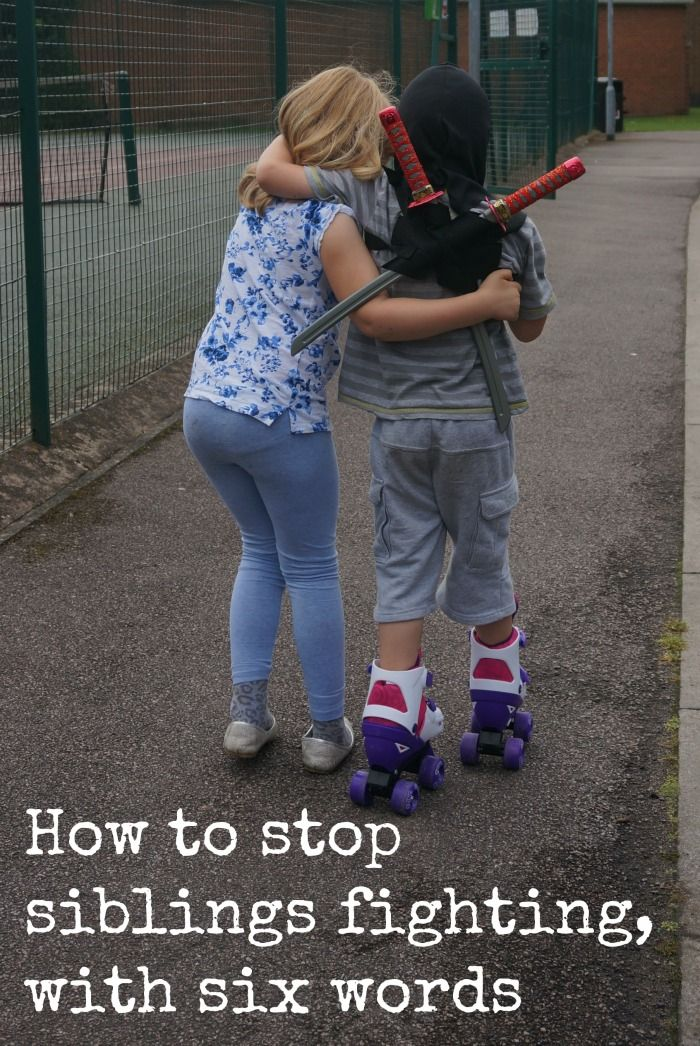 We all want to know how to stop siblings fighting, I think I've found a brilliantly simple trick. Disclaimer - I should say conflict is…