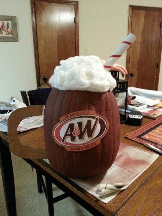 A and w root beer pumpkin & 37 best Pumpkin decorating contest images on Pinterest | Halloween ...