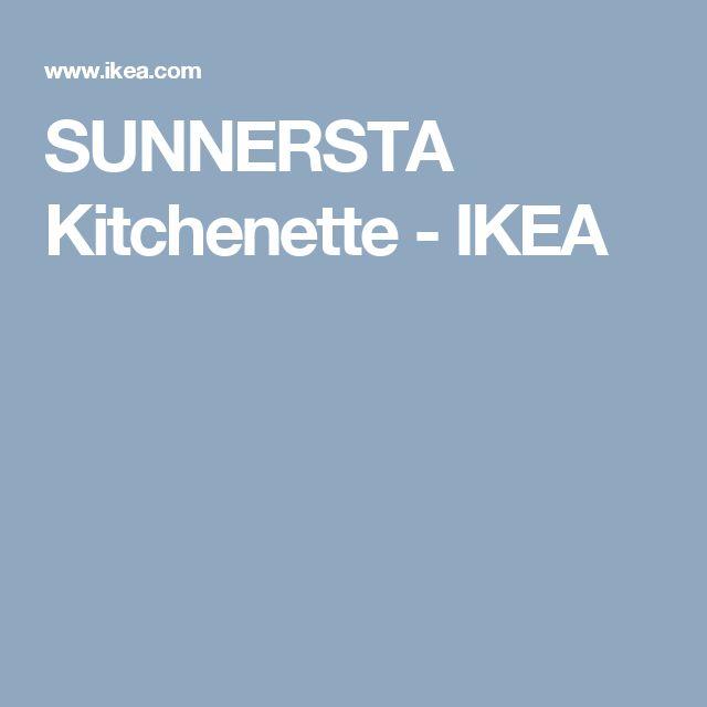 SUNNERSTA Kitchenette - IKEA