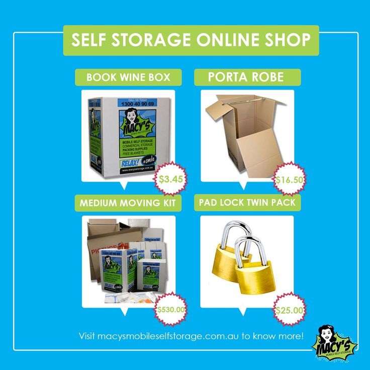 Welcome to our macy's mobile self storage online shop We have a great range of supplies for all your moving and storage needs. click here for more details :https://macysmobileselfstorage.com.au/shop/