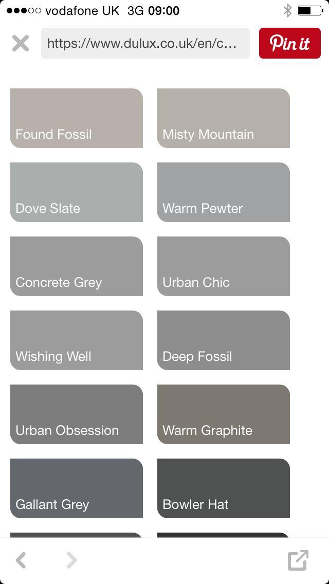 Dulux Grey Paint Coloursdulux