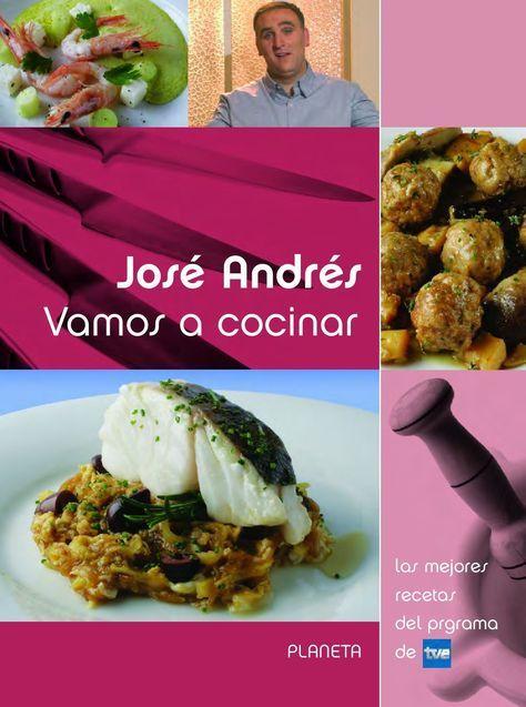 Vamos A Cocinar Libro De Cocina De José Andrés