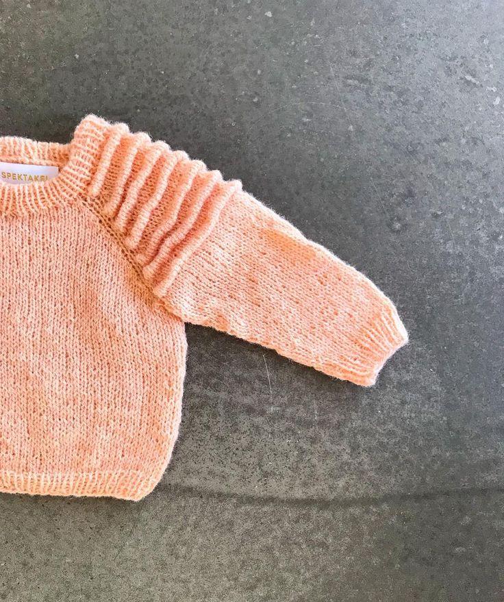 "Mie Firring on Instagram: ""#viggajumper ❤️ opskrift snart klar 🤗 #nevernotknitting #instaknit #gulddk #spektakelstrik #slowfashion #knitdesigner #knitweardesigner"""