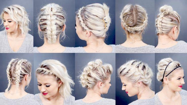 Hairstyles For Short Hair Milabu : medium hair short hair easy hairstyles short hair in ponytail how to ...
