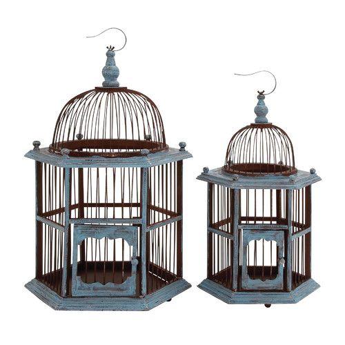 Found it at Joss & Main - 2-Piece Birdcage Decor Set