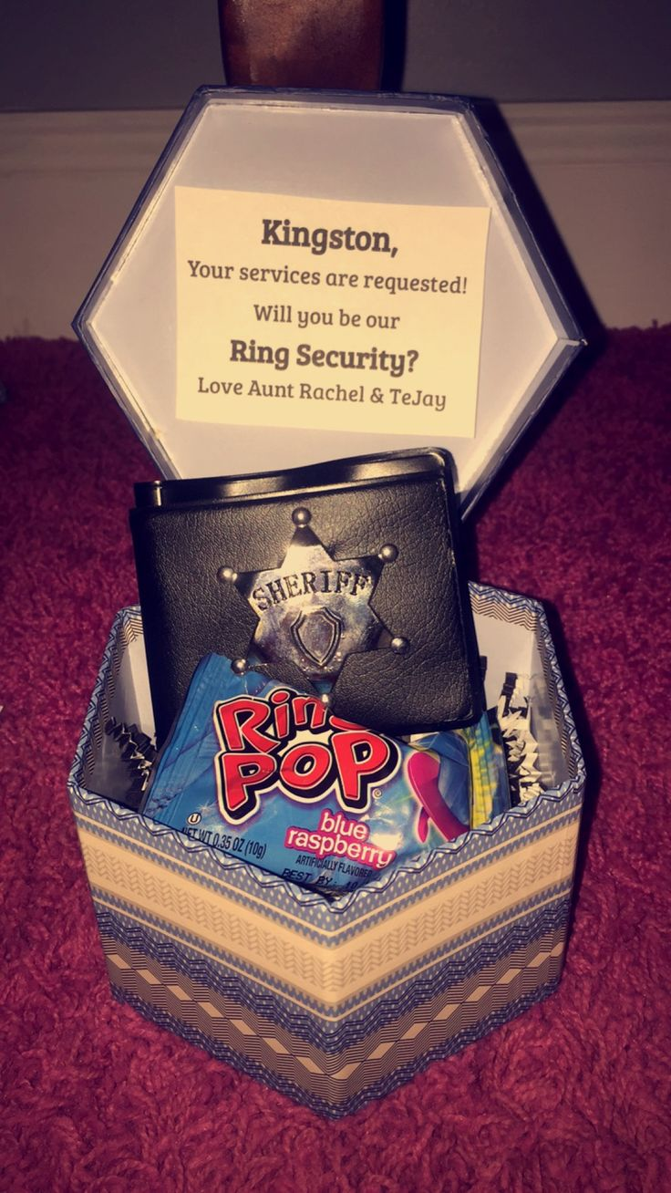 How to ask your ring bearer #ringbearer #wedding