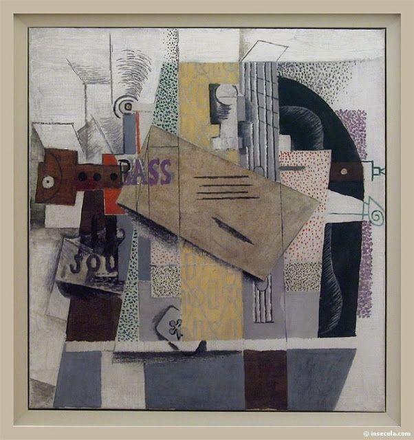 Solitary Dog Sculptor I. Picasso Pablo. 1907-1915 - Le cubisme - El cubismo