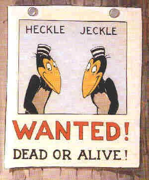 Heckle and Jeckle (Faísca e Fumaça) / 1946 / Terrytoons #cartoons