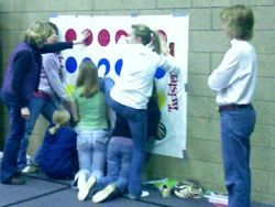 Favorite Youth Group Games: Vertical Twister « Life In Student Ministry Life In Student Ministry