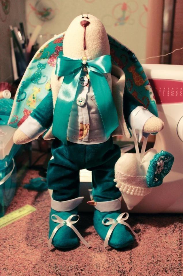 МК одежда для Кролика из флиса