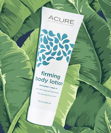 Acure Organics Firming Body Lotion, $9.99   This softly scented body lotion has a light texture -- no easy feat, considering the hydrating ingredients are pretty hardcore (think: argan oil and cocoa butter). The certified cruelty-free product also contains evening primrose, cranberry and rosehip, which help boost collagen production, tighten sagging skin and protect it from pesky free radicals.