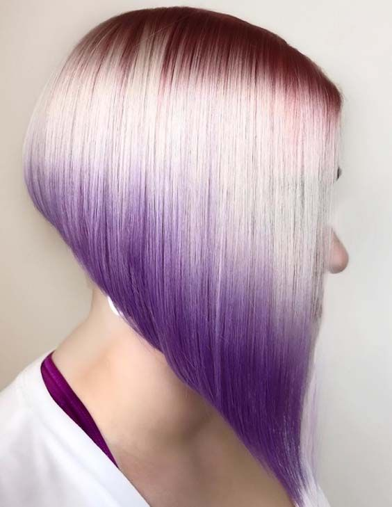 As you know angled bob hairstyles are so much liked haircuts among women. They are elegant, attractive and cute hairstyles to wear in different seasons. See here these amazing ideas of beautiful angled bob hairstyles to show off in 2018.