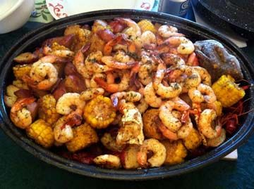 Seafood Boil Recipe | Boiled Crawfish and Boiled Shrimp - The Gumbo Pages :: Make Levees