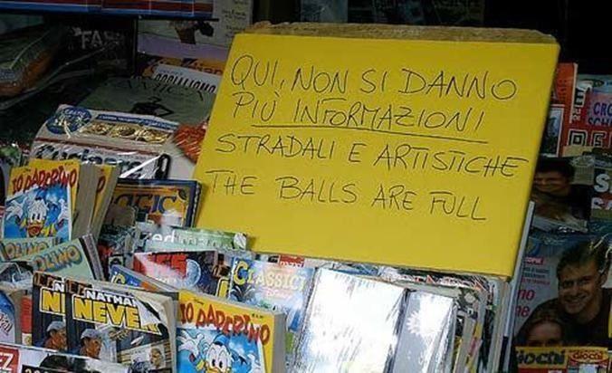 Quando uno conosce le lingue...