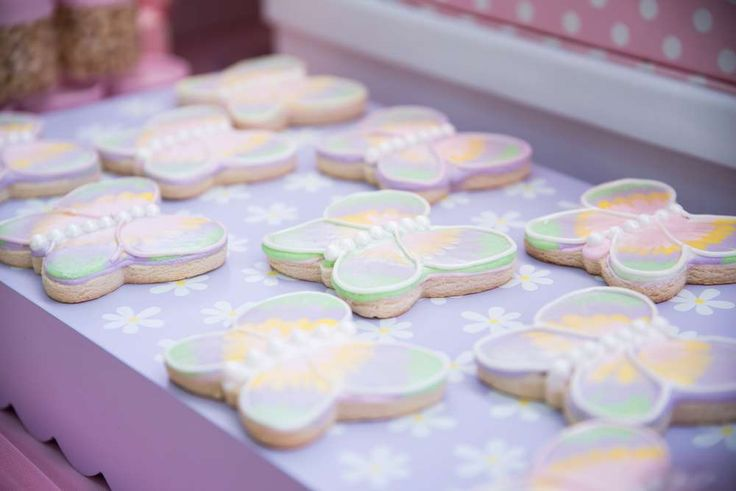 Butterflies and Flowers Birthday Party Birthday Party Ideas   Photo 3 of 17   Catch My Party