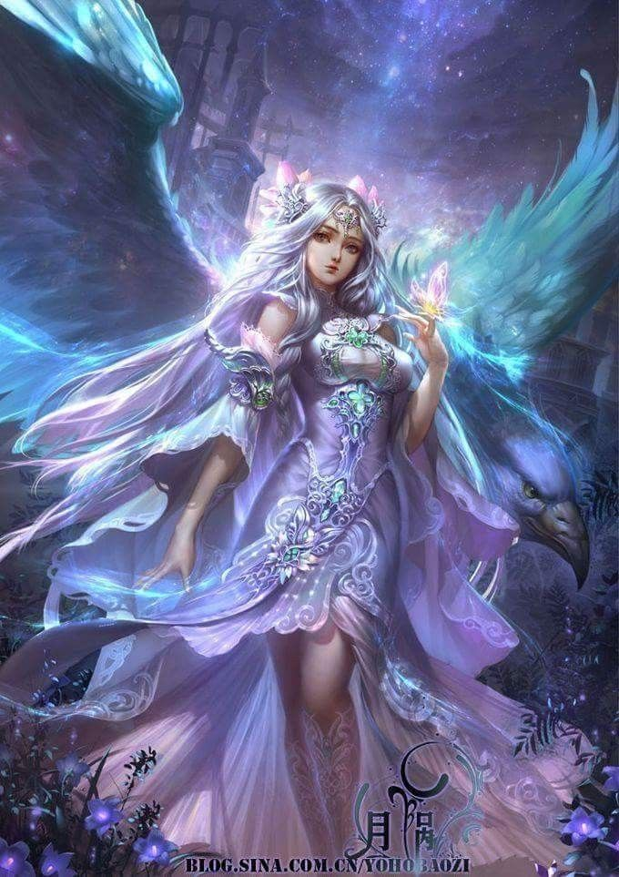 Pretty little fairy that I found in my garden... dhm | Fantasy ...