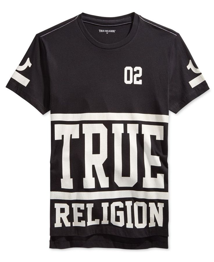 True Religion Men's Starter Graphic-Print Logo T-Shirt