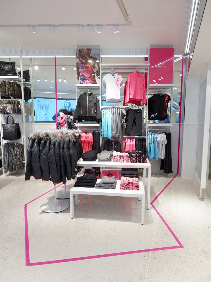 ONLY store by Riis Retail, Herning – Denmark store design