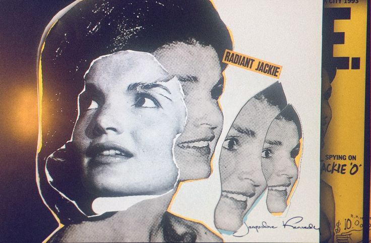 Past Perfect: Jackie O. Collage   ©artwork by Charles Bals / Another Slang