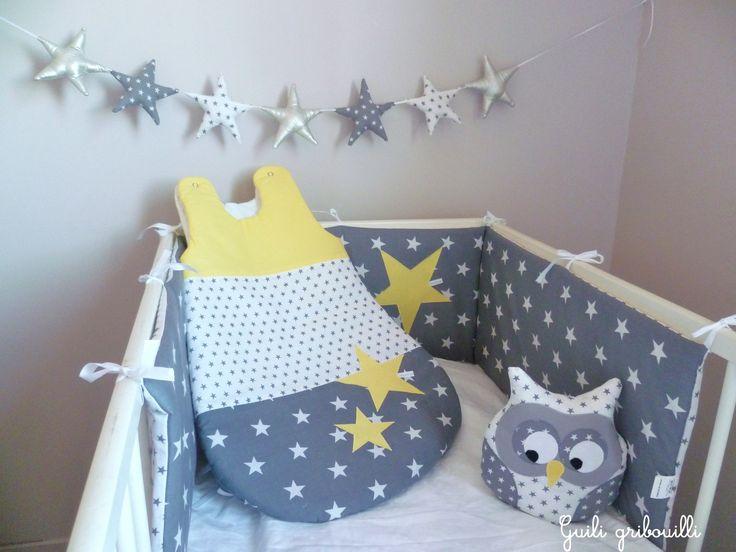 42 best d coration chambre enfant gris et jaune images on pinterest baby room grey gray and - Chambre gris et jaune ...
