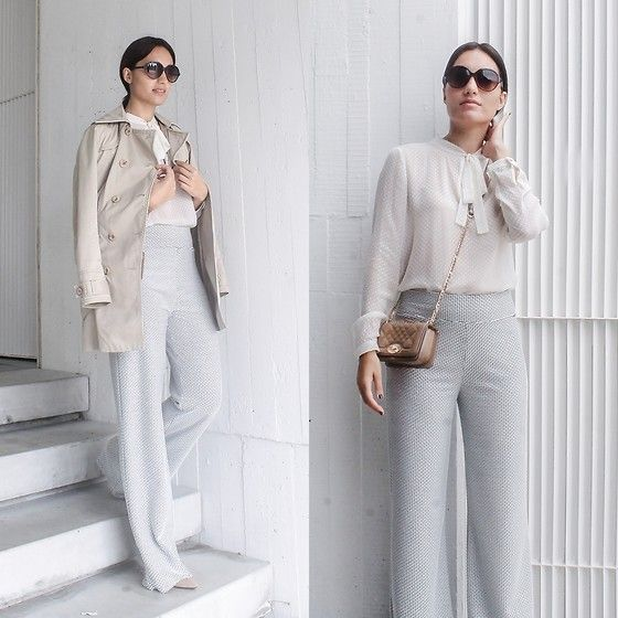 Get this look: http://lb.nu/look/7820892  More looks by Liliana Garcia: http://lb.nu/umblogfashion  Items in this look:  Mango Blouse, Ferrache Pants, Gloria Ortiz Shoes, Mango Bag, Foreva Sunglasses   #ootd #streetstyle #looks #outfits #blogger #estiloderua #blogdemoda #umblogfashion #portugal