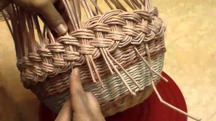 Плетение из газетных трубочек коса мастер класс - Nexttell-ug.ru