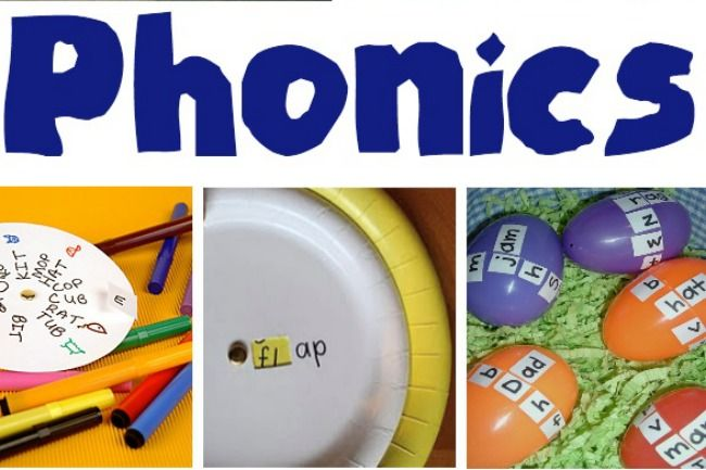 Starting to Read: It's Playtime Fun with Phonics | Kids Activities Blog