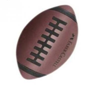 Borracha Bola da Vez Faber Castell - Futebol Americano com as melhores condições você encontra no site do Magazine Luiza. Confira!