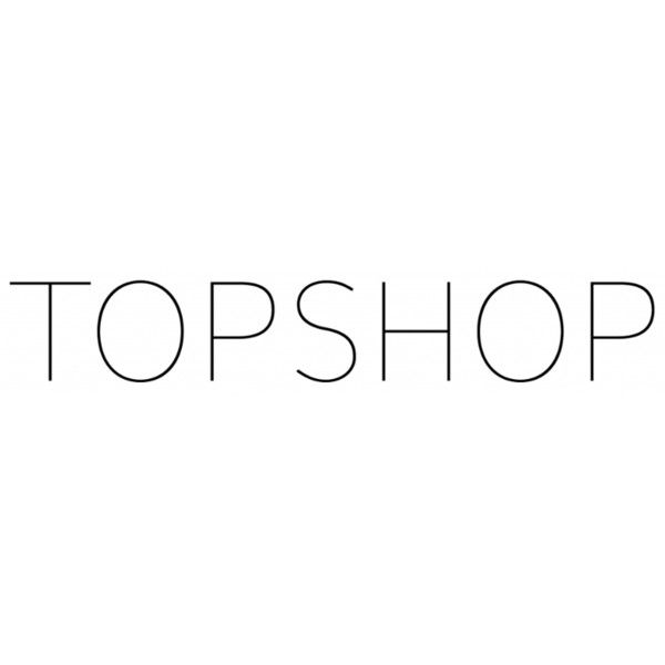 Topshop Logo ❤ liked on Polyvore featuring text, topshop, logos, words, quotes, phrase and saying