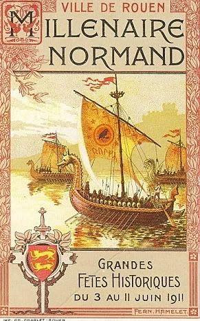 1911. Millénaire de la Normandie.