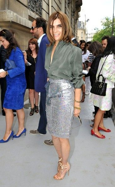Carine Roitfeld Photo - Arrivals for Dior Couture