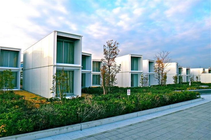 Container hotels