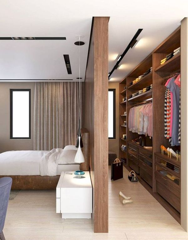 30 Simple And Modern Open Closet Ideas For Your Bedroom In 2020 Bedroom Closet Design Closet Decor Closet Bedroom