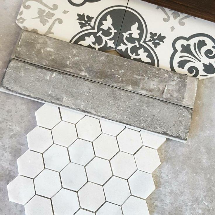 My Dream Tile Palette For A Bathroom Patterned Bathroom Tiles Diy Bathroom Remodel Bathroom Floor Tile Patterns